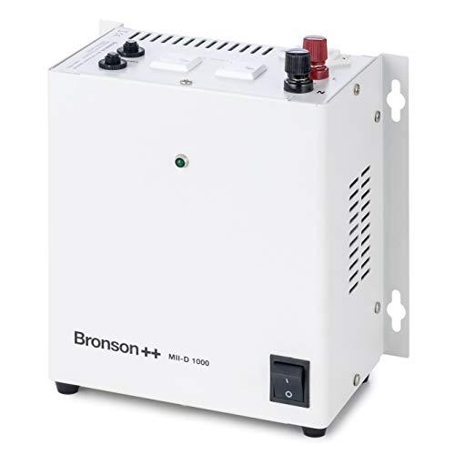 Bronson++ MII-D 1000 Trenntransformator Trenntrafo 110 Volt USA Trafo Spannungswandler 1000 Watt - In: 110V/230V - Out: 110V