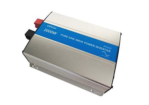 EPEVER® reiner Sinus Spannungswandler 2000W IP2000-42 Inverter Wechselrichter 48V DC auf 230V AC Stromwandler (IP2000-42, 2000W 48V/230V)