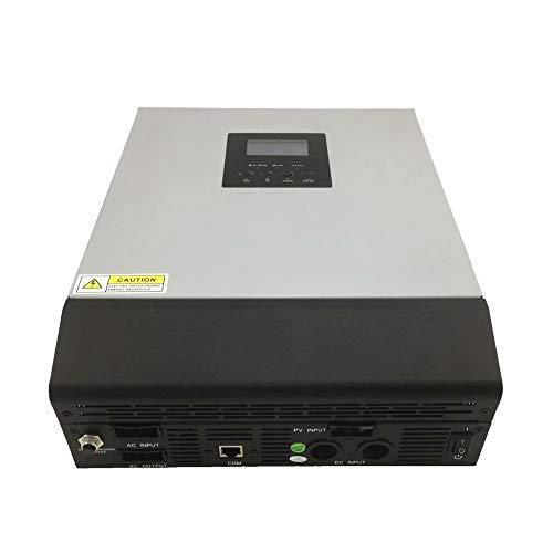 QCYP 3000VA 5000VA Hybrid-Wechselrichter 3KVA / 5KVA PWM/MPPT Off-Grid-Rein-Sinus-Solarwechselrichter 24V / 48V Batterieladegerät, MPPT-48V 220V 5KVA