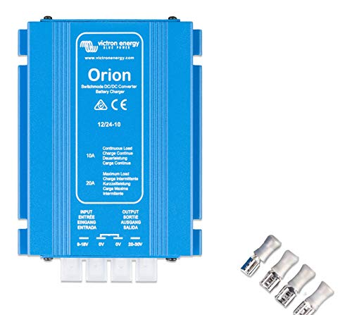 Victron Energy ORI122410020 Orion 12/24-10 DC Wandler IP20, 12 auf 24 V-10 A