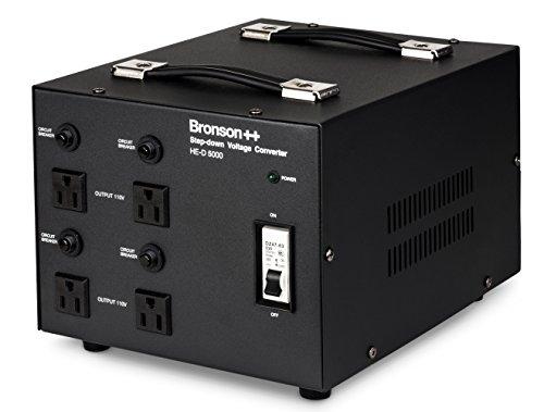 Bronson++ HE-D 5000 Spannungswandler - 110 AC Volt Ausgang USA Transformator - 5000 Watt - Bronson 5000W 110V