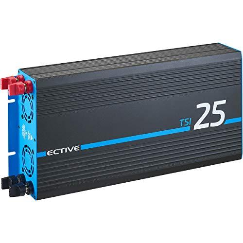 ECTIVE 2500W 24V zu 230V Reiner Sinus-Wechselrichter TSI 25 mit integrierter NVS- und USV-Funktion