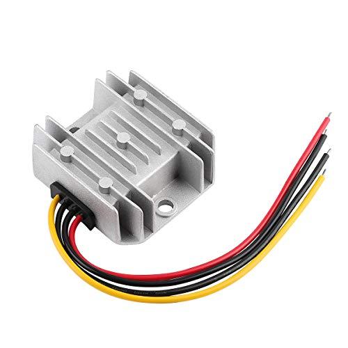 Spannungswandler 24V 12V SUPERNIGHT 24v auf 12v 10A 120W Step Down Wandler Transformator Voltage Reducer Converter für Auto PKW LKW Kfz Motor