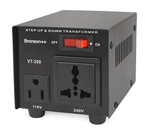 Bronson++ VT 200-110 Volt Spannungswandler Transformator Step-up/-down Konverter - Bronson 200 Watt 110V 200W