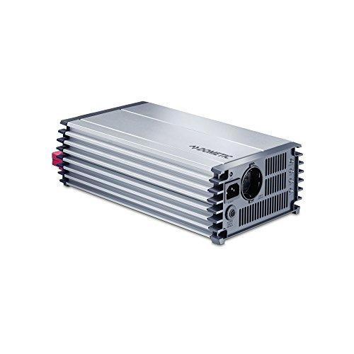 DOMETIC PerfectPower PP 1002, Sinus-Wechselrichter, Auto Spannungswandler 12 V auf 230 V, Überspannungsschutz, 1000 W, mobile Steckdose