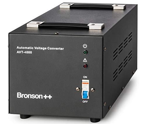 Bronson++ AVT 4000-110 Volt Transformator Spannungswandler USA Converter - 4000 Watt - Step-up/-down Ringkern-Trafo - Bronson 110V 4000W