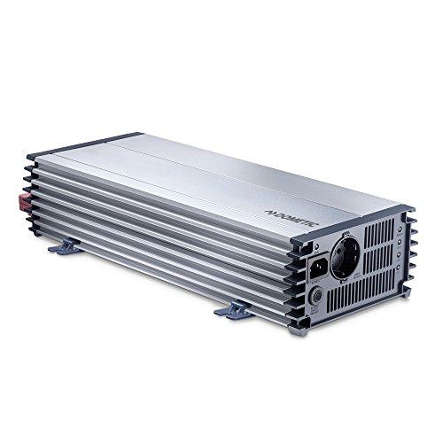 DOMETIC PerfectPower PP 2002, Sinus-Wechselrichter, Auto Spannungswandler 12 V auf 230 V, Überspannungsschutz, 2000 W, mobile Steckdose