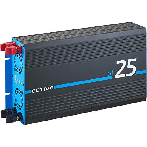 ECTIVE 2500W 24V zu 230V Sinus-Wechselrichter SI mit reiner Sinuswelle 25 in 7 Varianten