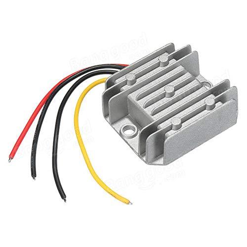 Stromwandler/Regler, 12 V Gleichstrom auf 24 V, 3 A, 72 W, wasserdicht