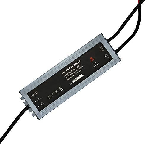 Dapenk Quiet PSU Led RGB Strip Netzteil Netzgerät Trafo Halogen Steuerung Spannungswandler Dc 24v 300watt 300w Transformator Ac 230v Schaltnetzteil (CLPS300-H1V24)
