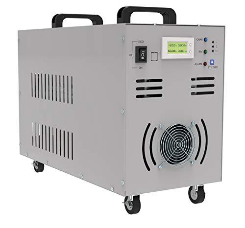 Solinba 5000w/Gipfel 15000w DC48v zu AC230v 50Hz Spannungswandler Reine Sinuswelle Off Grid Auto Generator Wechselrichter Dual-LCD-Anzeige