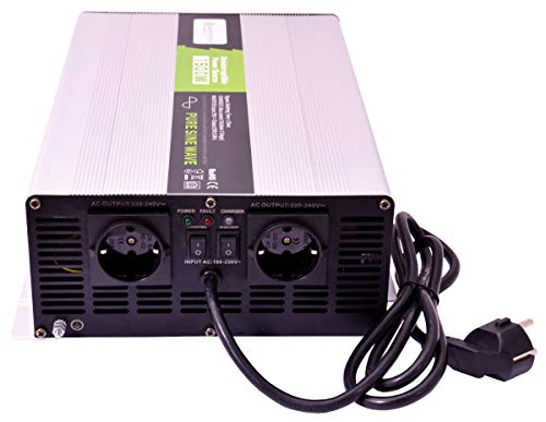 solartronics Spannungswandler USV 24V NPS 1500/3000 Watt Reiner Sinus UPS Inverter