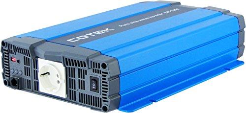 Sinus Wechselrichter Cotek 48V auf 220V 1500W von Adaptoo