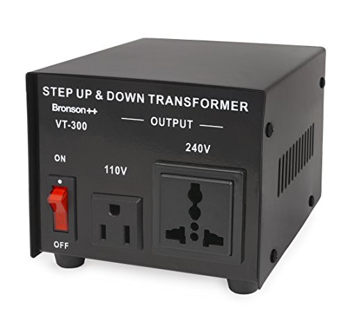 Bronson++ VT 300-110 Volt Spannungswandler Transformator Step-up/-down Konverter - Bronson 300 Watt 110V 300W