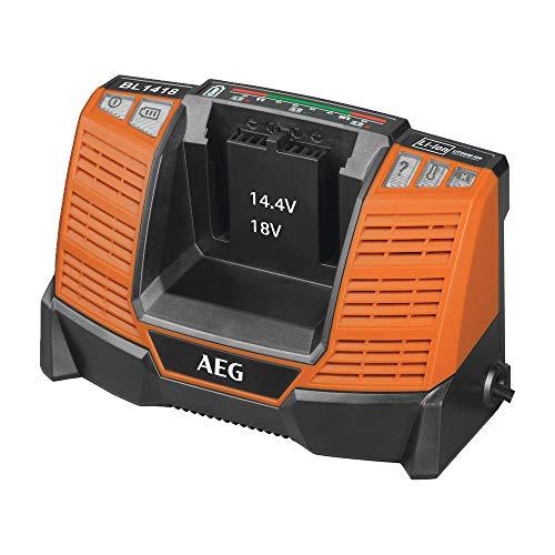 AEG BL1418 4932464542 Akku Ladegerät (14-18V, Ladestandsanzeige, für PRO Li-Ion Akkus, schnelle Ladezeit, für Schiebeakkus)