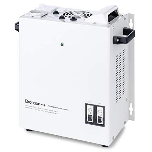 Bronson++ WTI 6000 110 Volt USA Spannungswandler Transformator zur Wandmontage 6000 Watt - In: 110V oder 220V / Out: 110V und 220V - Bronson 6000W
