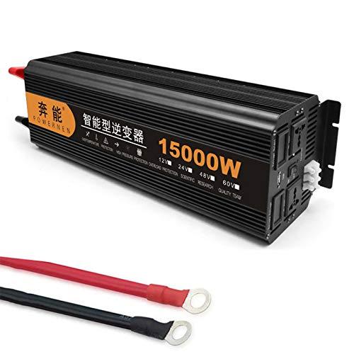 Reiner Sinus Wechselrichter 3200 W / 4000 W / 5000 W / 6000 W / 8000 W / 9000 W / 12000 W / 15000 W Spannungswandler DC 12V/24V Auf AC 230V Umwandler - Inverter Konverter (15000W,24V)