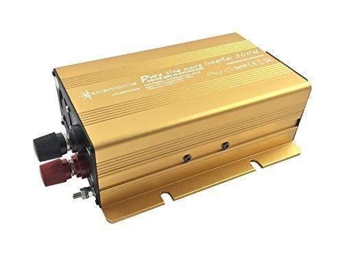 Wechselrichter - Spannungswandler 12V 300 bis 3000 Watt reiner SINUS mit echtem Power USB 2.1A Gold Edition … (4000-8000 Watt)
