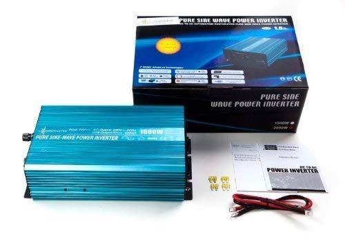 Spannungswandler Sinus Wechselrichter 1500 Watt 24-230V