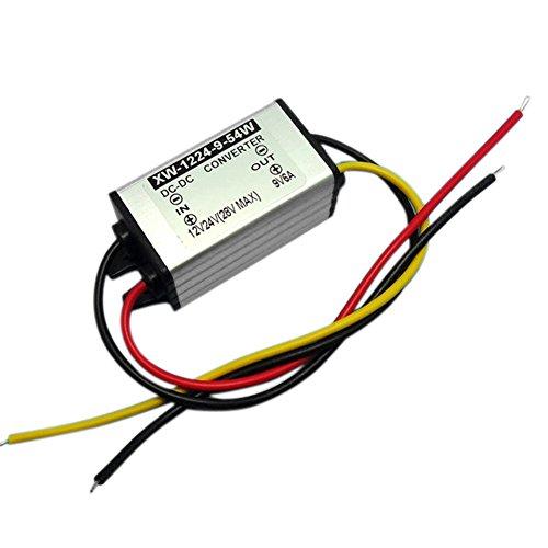 Blackr 12 V auf 9 V DC Step Down Power Converter, 6 A 54 W DC Buck Power Supply Voltage Changer Adapter Regulator