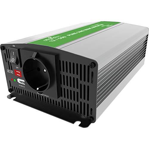 Offgridtec® PSI Sinus Spannungswandler 500W 1000W 12V auf 230V