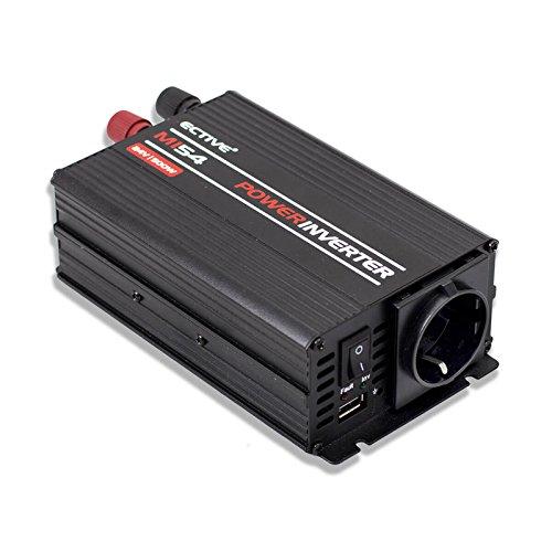 ECTIVE MI-Serie   Wechselrichter 300W   24V zu 230V   7 Varianten: 300W - 3000W   Modifizierter 24 Volt Spannungswandler DC auf AC, 24V auf 230V Stromwandler, Konverter, Inverter mit mod. Sinuswelle