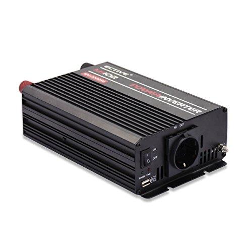 ECTIVE MI-Serie   Wechselrichter 1000W   24V zu 230V   7 Varianten: 300W - 3000W   Modifizierter 24 Volt Spannungswandler DC auf AC, 24V auf 230V Stromwandler, Konverter, Inverter mit mod. Sinuswelle