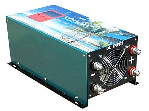Upgrade Version 20000W PEAK/5000W Spannungswandler Reiner/SINUS Wechselrichter Power inverter dc 24V/ac 230V,80A Ladefunktion,UPS