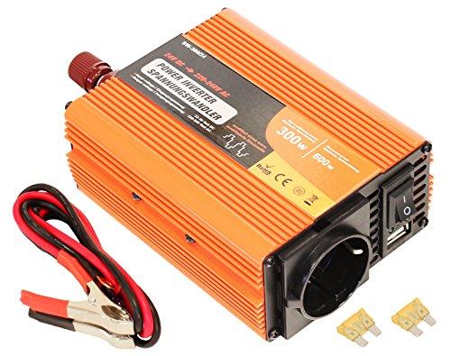 RICOO Inverter 24V-230V Spannungswandler 300W | SW-300/24