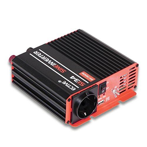 ECTIVE 1000W 12V auf 230V SI-Serie reiner Sinus Wechselrichter in 7 Varianten: 300W - 3000W