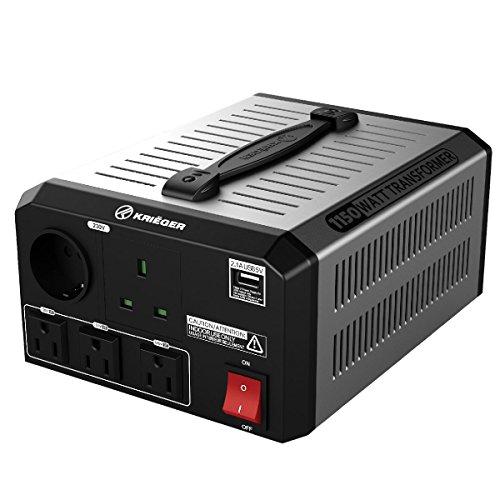 KRIËGER 1150 Watt Spannungswandler 110/120V - 220/230V mit CE/UL/CSA Zulassung