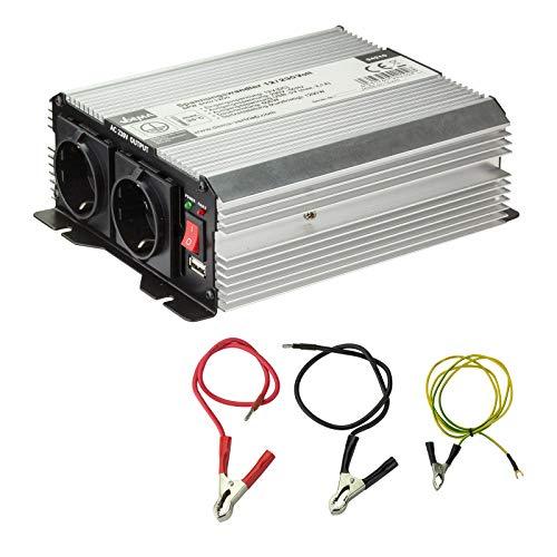 DEMA Spannungswandler 12/230 Volt 600/1200W