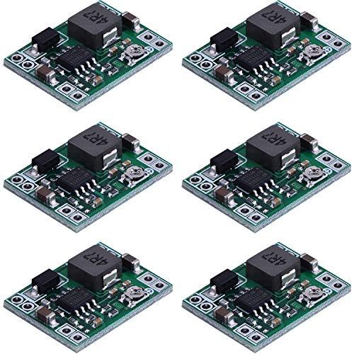 6 Packungen Mini MP1584EN DC DC Spannungsregler Abwärtswandler Einstellbare Leistung Abwärtsmodul 24 V bis 12 V 9 V 5 V 3 V (6 Packungen)