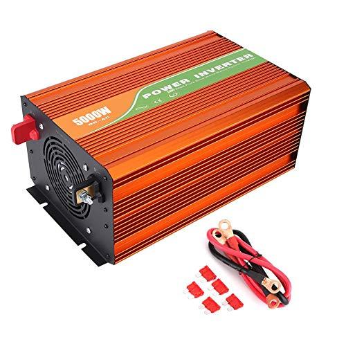Boquite Valentinstag Karneval Solar Wechselrichter, DC Spannungswandler, 5000W Hochfrequenz Rein Sinus Wechselrichter Auto Solar Wechselrichter Ausgangsspannung 220V(48V)