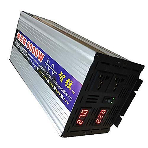Reiner Sinus-Wechselrichter, Dc 12V 24V 48V 60V Zu Ac 220V Spannungswandler, 4000W 5000W 6000W 8000W Power Car Solar Energy Inverter,48V-6000W