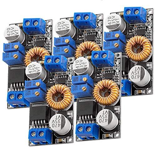 AZDelivery 5 x Spannungswandler 5A 8-36V zu 1,25-32V XL4015 inklusive E-Book!